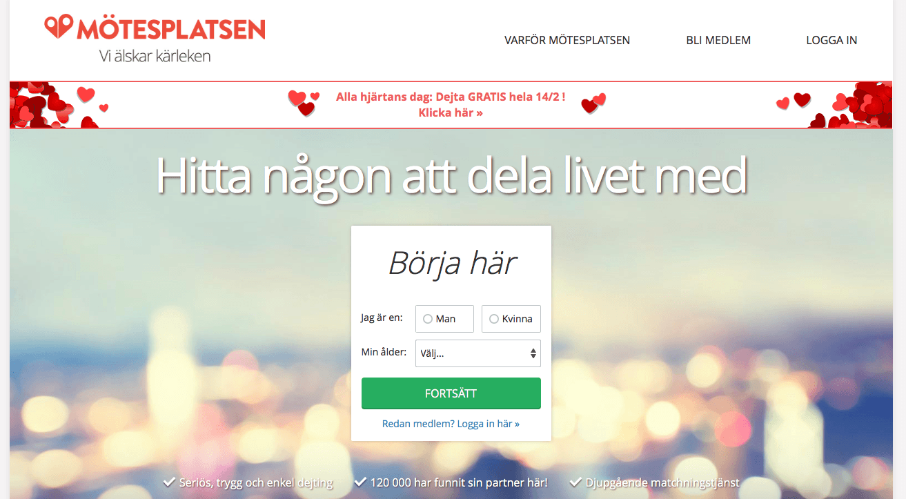 Inrätta en Internet Dating hem sida